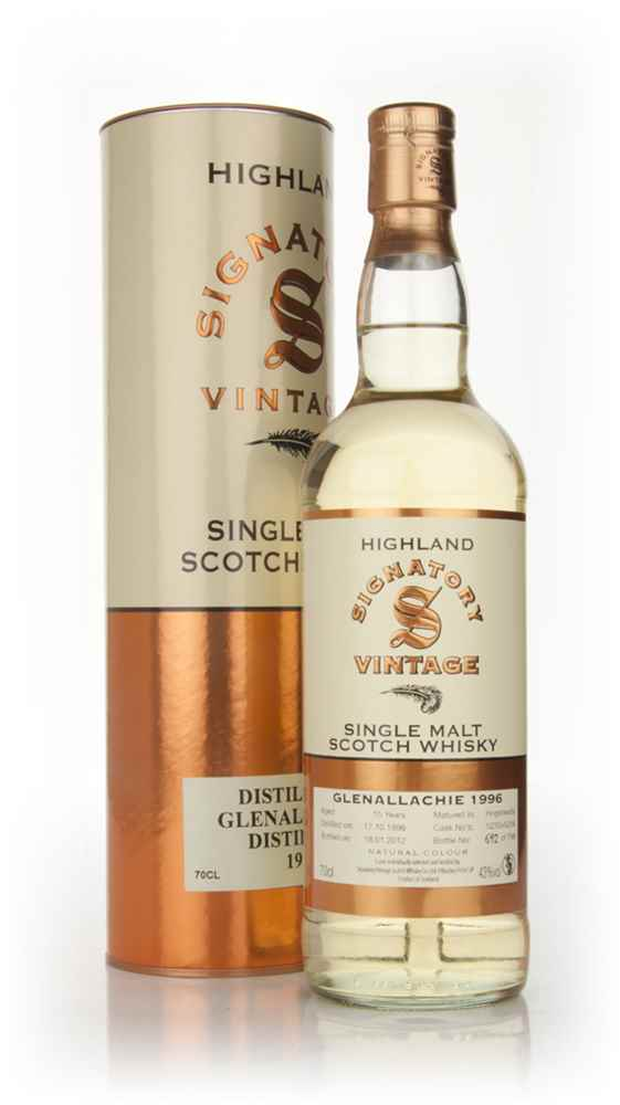 Glenallachie 15 Year Old 1996 (Signatory)