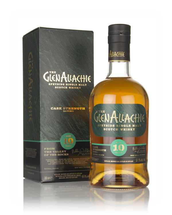 GlenAllachie 10 Year Old Cask Strength - Batch 1