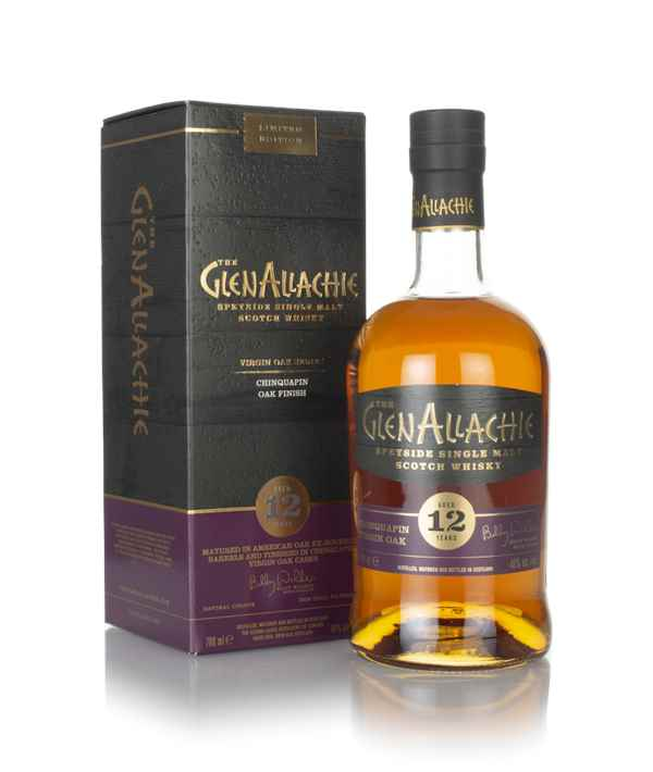 GlenAllachie 12 Year Old Chinquapin Oak Finish