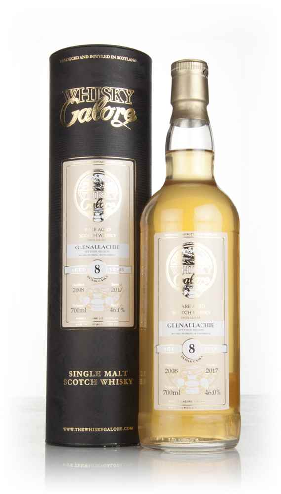 Glenallachie 8 Year Old 2008 (Whisky Galore)