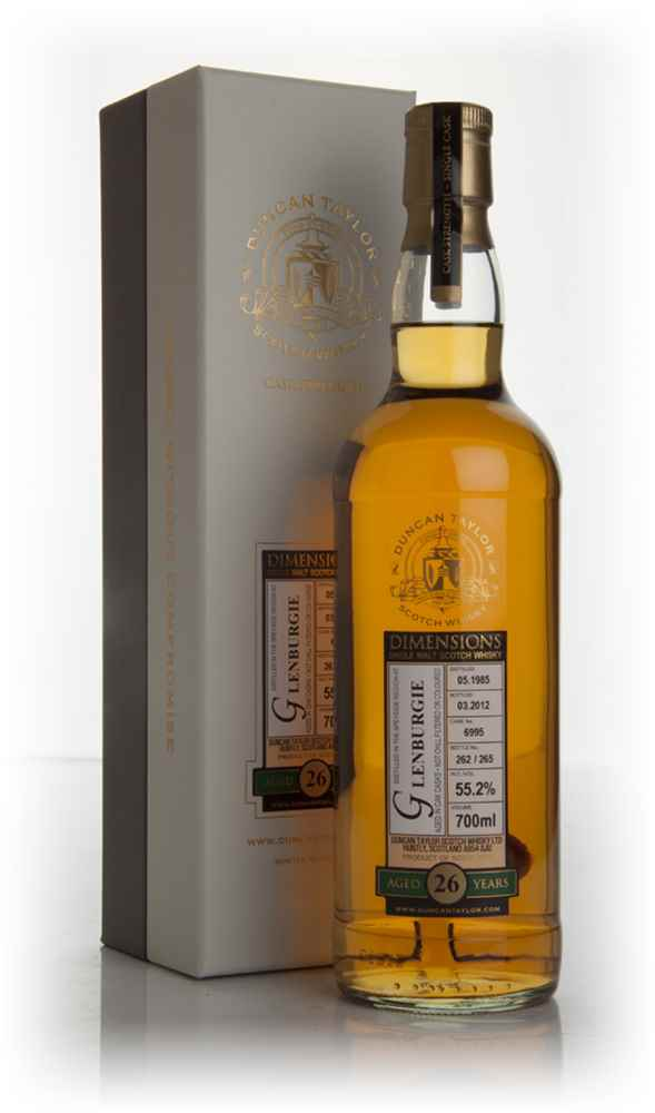 Glenburgie 26 Year Old 1985 - Dimensions (Duncan Taylor)