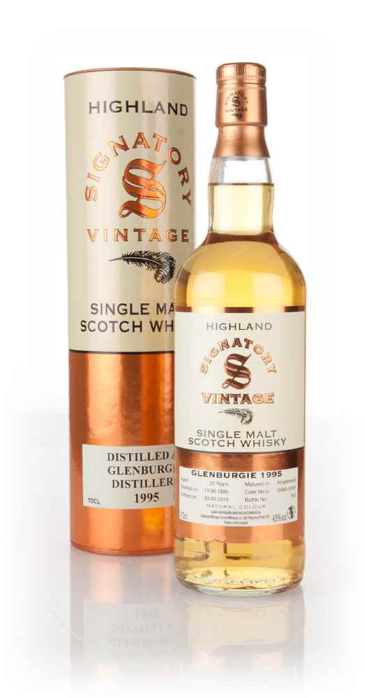 Glenburgie 20 Year Old 1995 (casks 6490 + 6491) (Signatory)