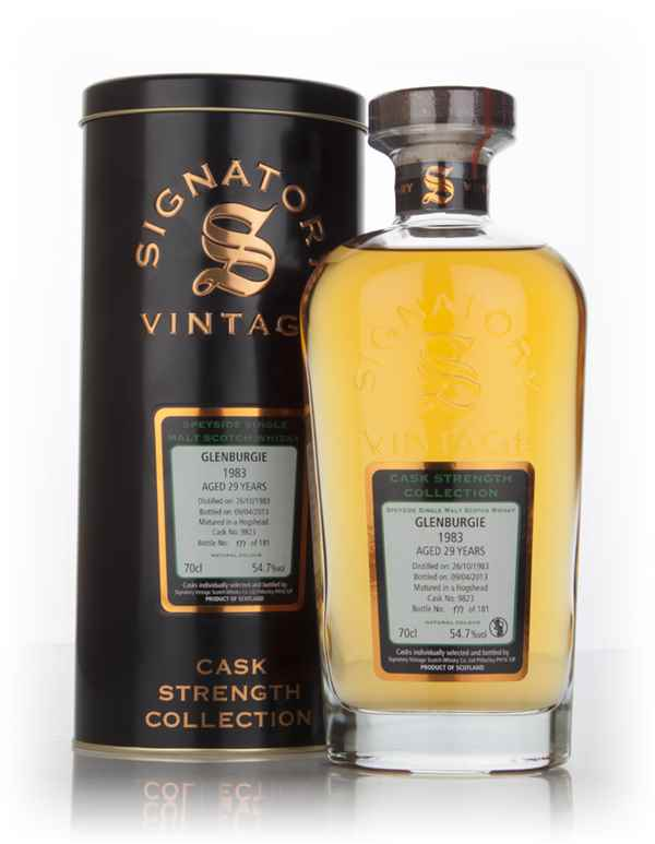 Glenburgie 29 Year Old 1983 (cask 9823) - Cask Strength Collection (Signatory)