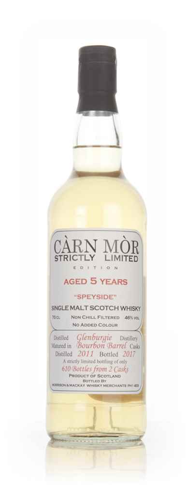 Glenburgie 5 Year Old 2011 - Strictly Limited (Càrn Mòr)