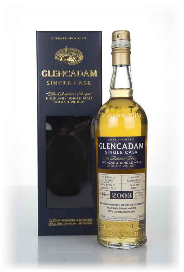 Glencadam 14 Year Old Bourbon Cask #197