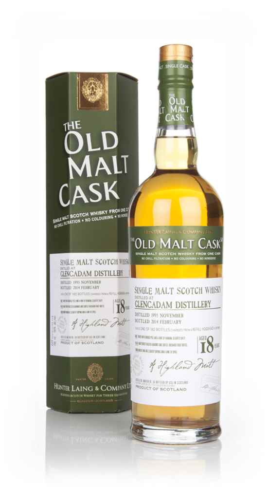 Glencadam 18 Year Old 1995 (cask 4581) - Old Malt Cask (Hunter Laing)