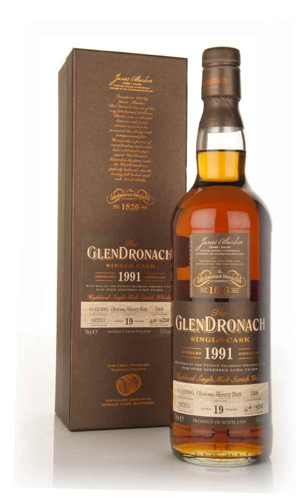 GlenDronach 19 Year Old 1991 Olorosso Sherry Finish