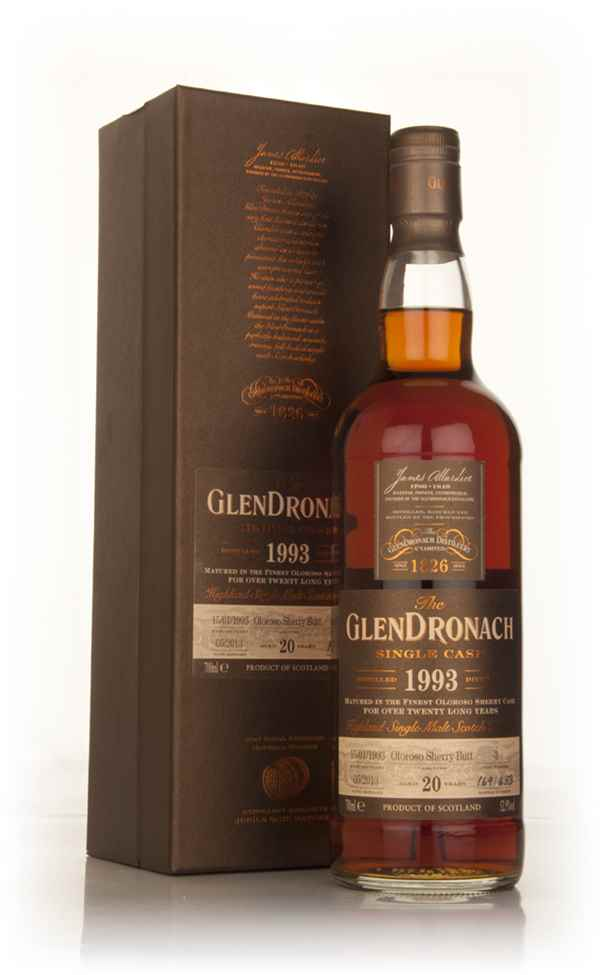 GlenDronach 20 Year Old 1993 (cask 3) - Batch 8