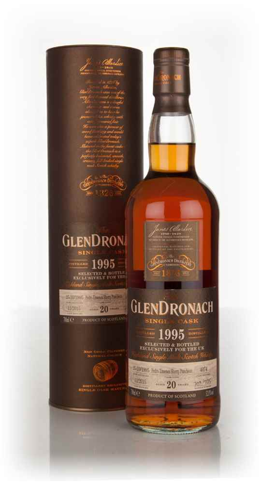 GlenDronach 20 Year Old 1995 (cask 4074)
