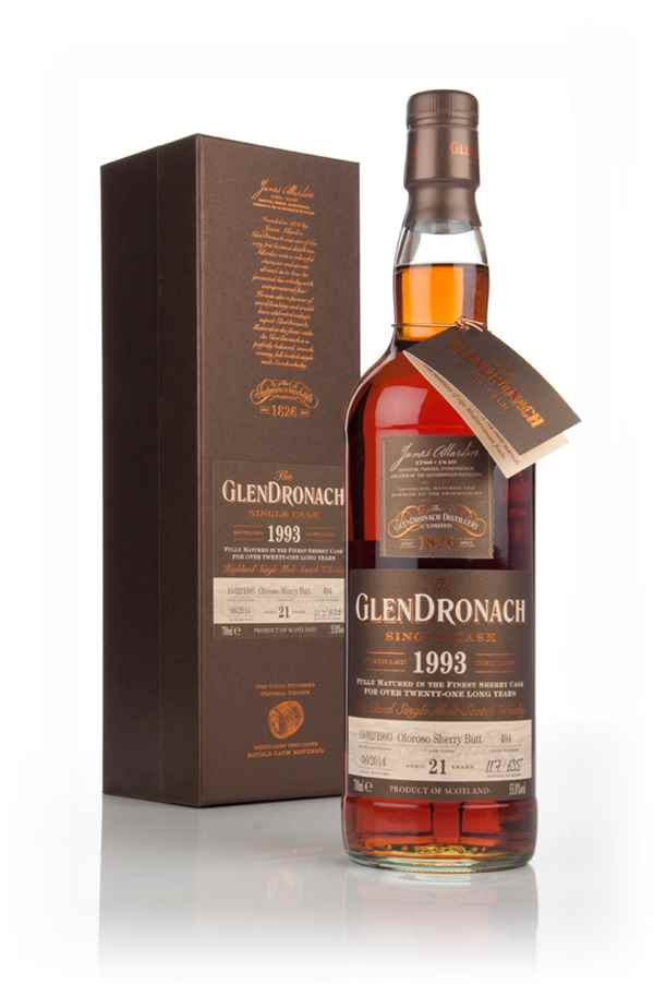 GlenDronach 21 Year Old 1993 (cask 494) - Batch 10