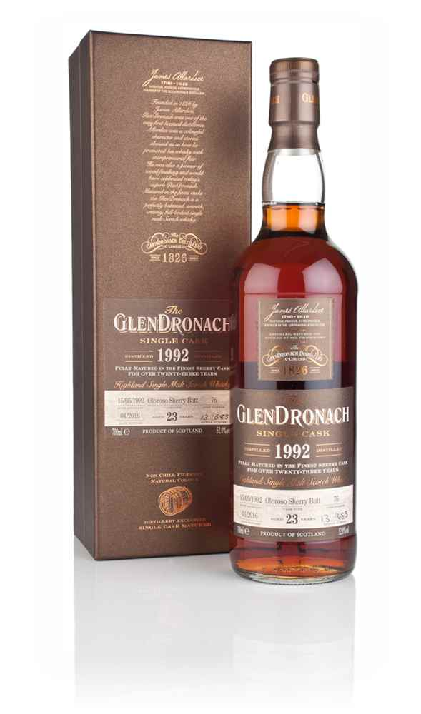 GlenDronach 23 Year Old 1992 (cask 76)