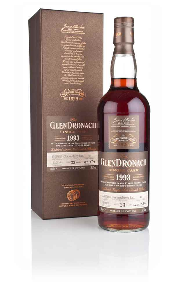 GlenDronach 23 Year Old 1993 (cask 40)