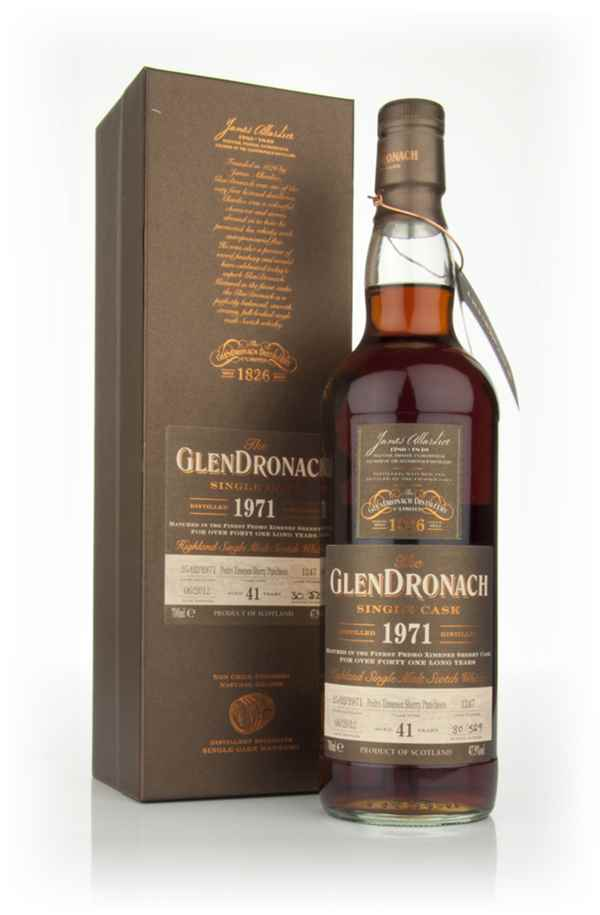 GlenDronach 41 Year Old 1971 Batch 6