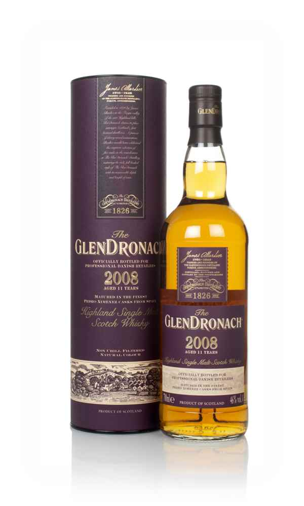The Glendronach 11 Year Old 2008
