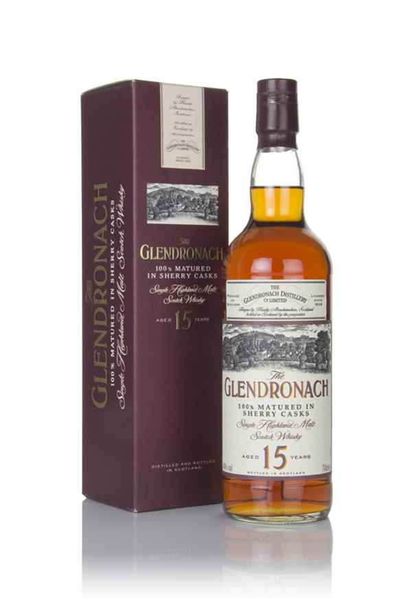 The GlenDronach 15 Year Old - 1990s