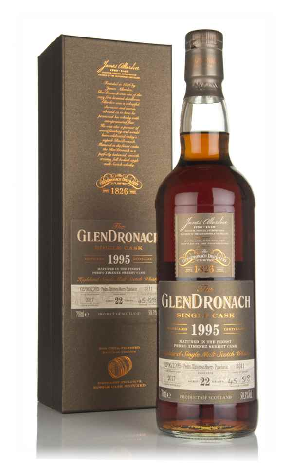 The GlenDronach 22 Year Old 1995 (cask 3311)