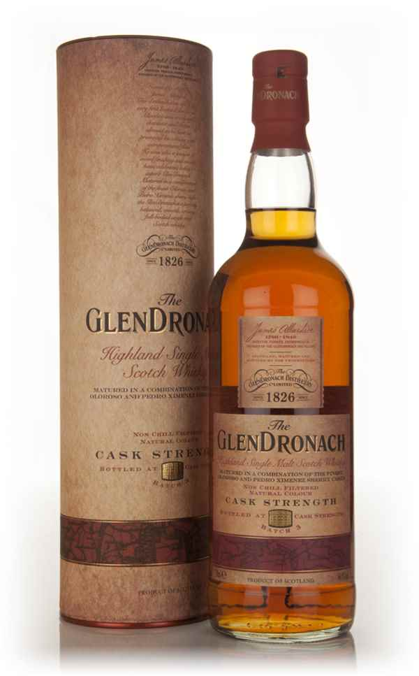 The GlenDronach Cask Strength - Batch 3