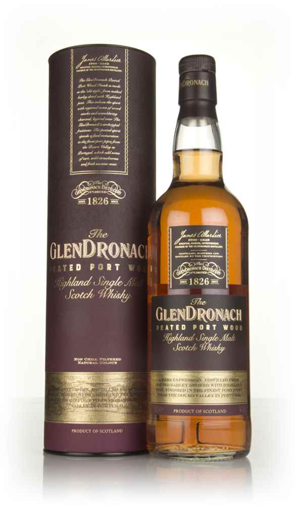 The GlenDronach Peated Port Wood Finish