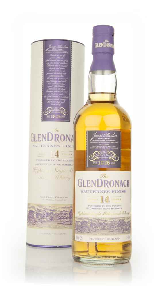 The GlenDronach 14 Year Old - Sauternes Finish