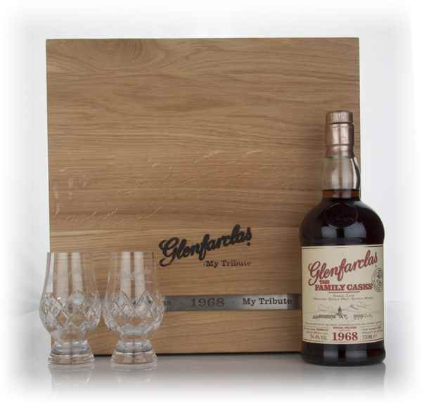 Glenfarclas 1968 Family Cask - 'My Tribute'
