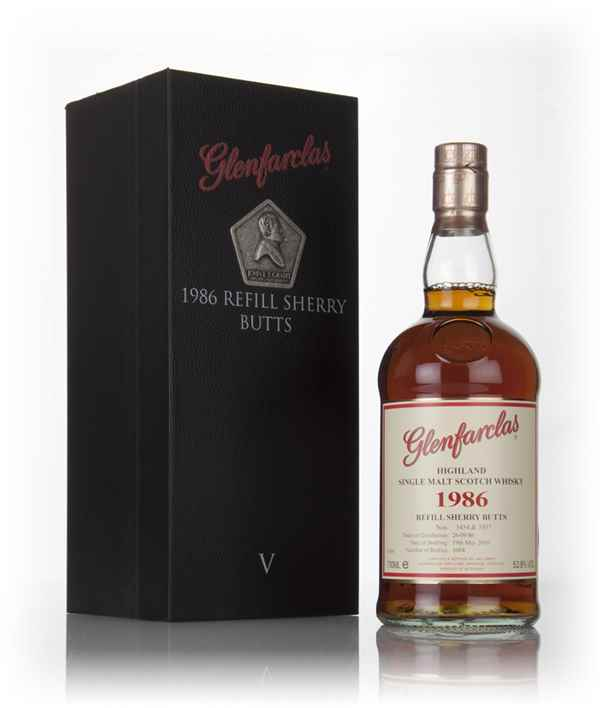 Glenfarclas 29 Year Old 1986 Refill Sherry Casks - Family Collector Series V
