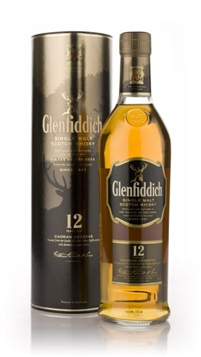 Glenfiddich 12 Year Old Caoran