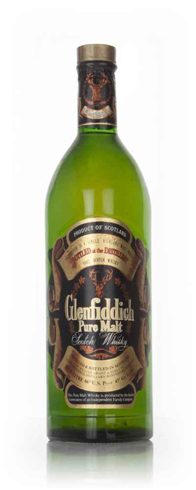 Glenfiddich Pure Malt 1l - 1970s