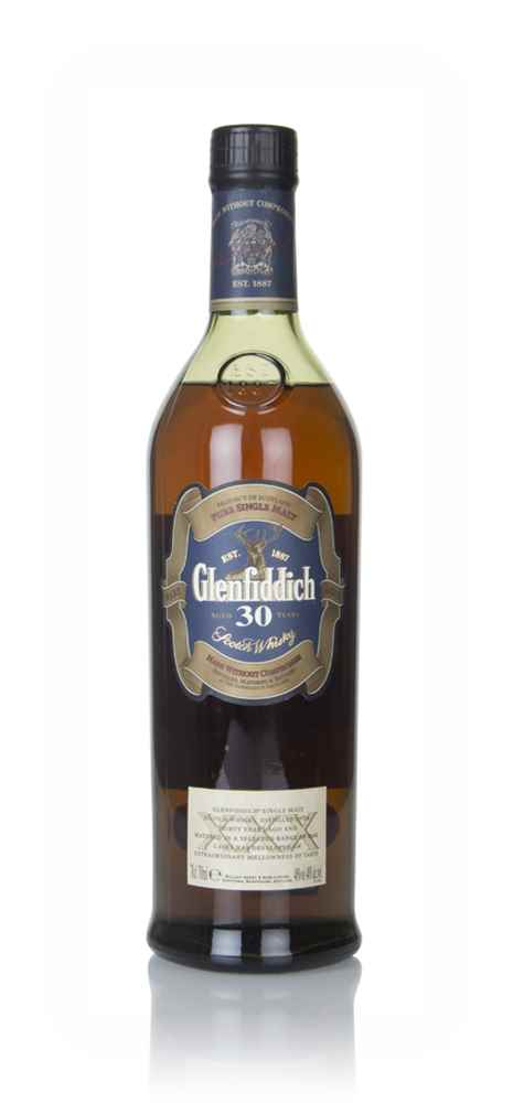 Glenfiddich 30 Year Old (Old Bottling) (without Presentation Tube)