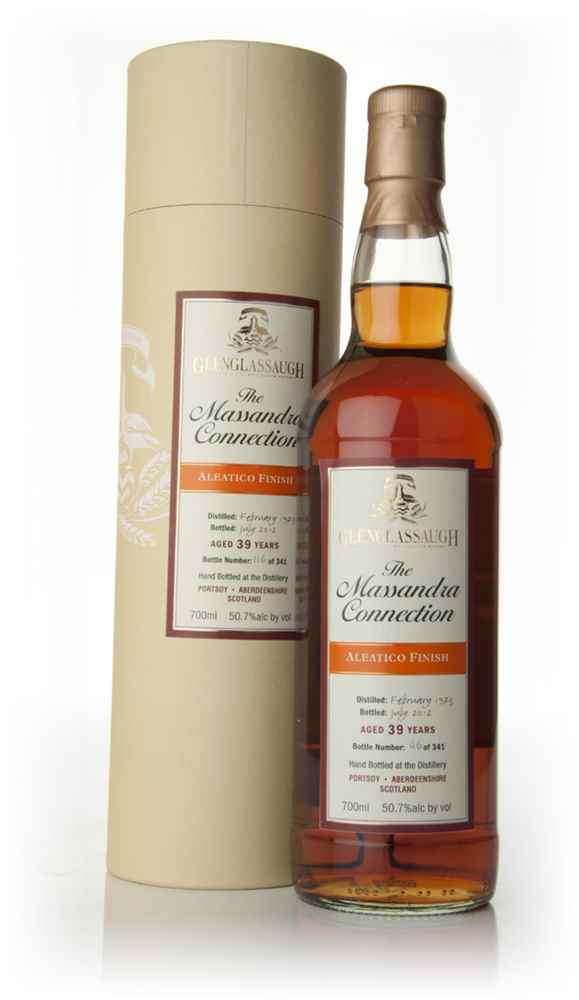 Glenglassaugh 39 Year Old 1973 - Aleatico Wine Cask Finish