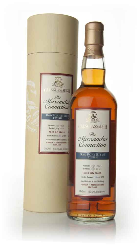 Glenglassaugh 45 Year Old 1967 - Red Port Cask Finish