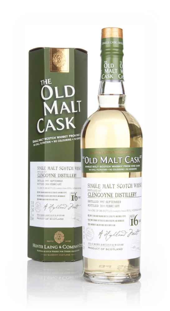 Glengoyne 16 Year Old 1997 (cask 10302) - Old Malt Cask (Hunter Laing)
