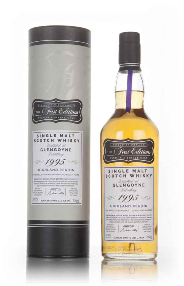 Glengoyne 21 Year Old 1995 (cask 13308) - The First Editions (Hunter Laing)