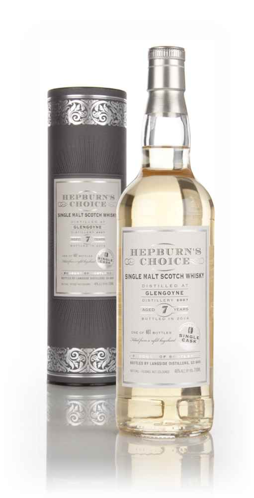 Glengoyne 7 Year Old 2007 - Hepburn's Choice (Langside)