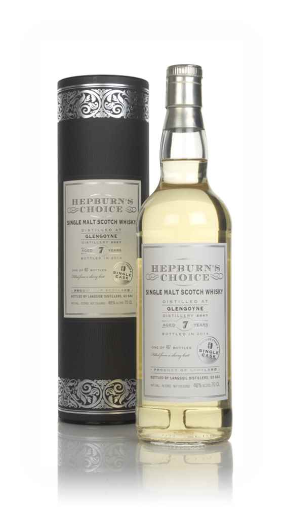 Glengoyne 7 Year Old 2007 (bottled 2014) - Hepburn's Choice (Langside)