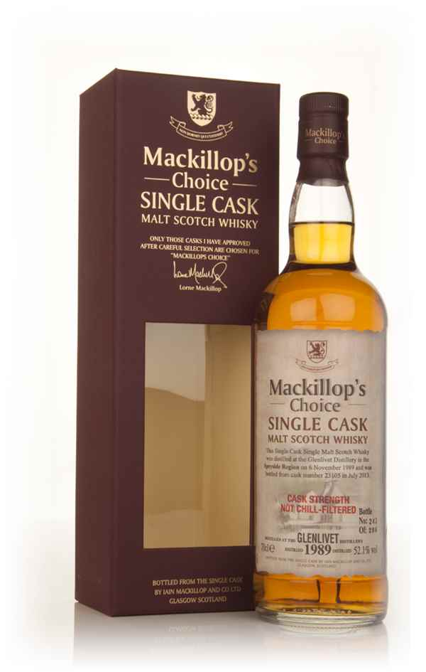 Glenlivet 23 Year Old 1989 (cask 23105) - Mackillop's Choice