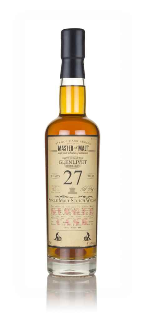 Glenlivet 27 Year Old 1989 - Single Cask (Master of Malt)