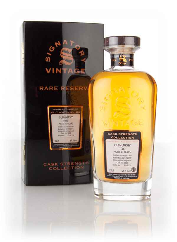 Glenlochy 35 Year Old 1980 (cask 3232) - Cask Strength Collection Rare Reserve (Signatory)