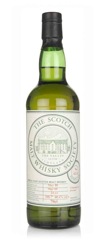 SMWS No. 62.12 24 Year Old 1980