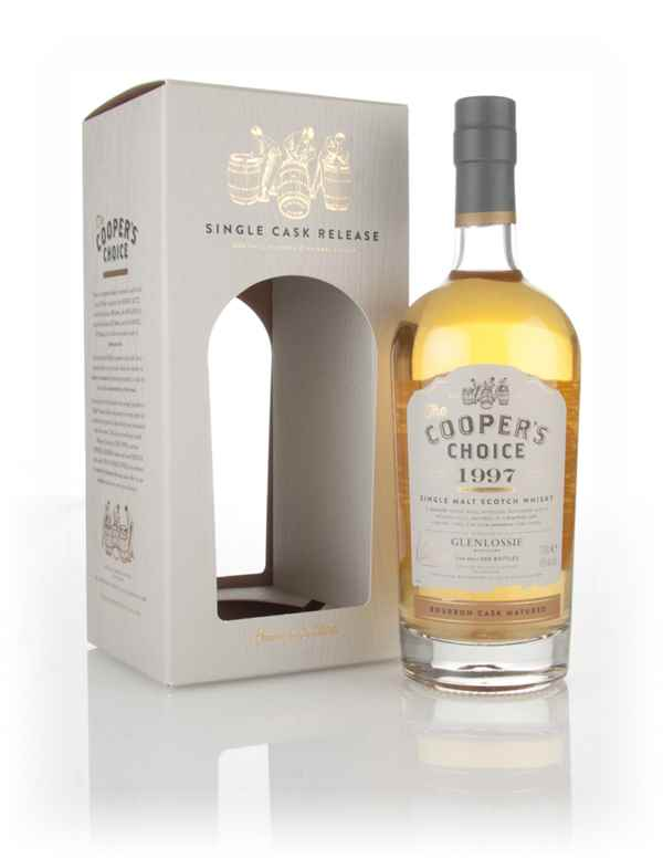 Glenlossie 17 Year Old 1997 (cask 7066) - The Cooper's Choice (The Vintage Malt Whisky Co.)