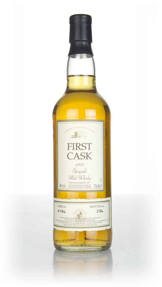 Glenlossie 27 Year Old 1978 (cask 4786) - First Cask