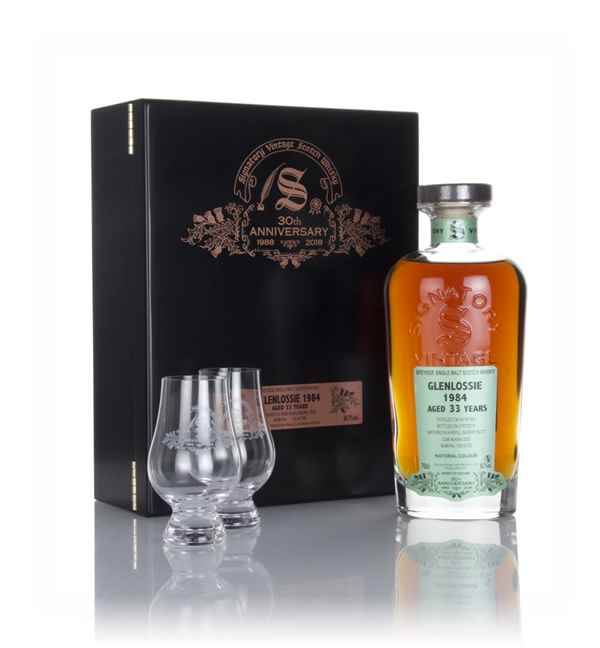 Glenlossie 33 Year Old 1984 (cask 2533) - 30th Anniversary Gift Box (Signatory)