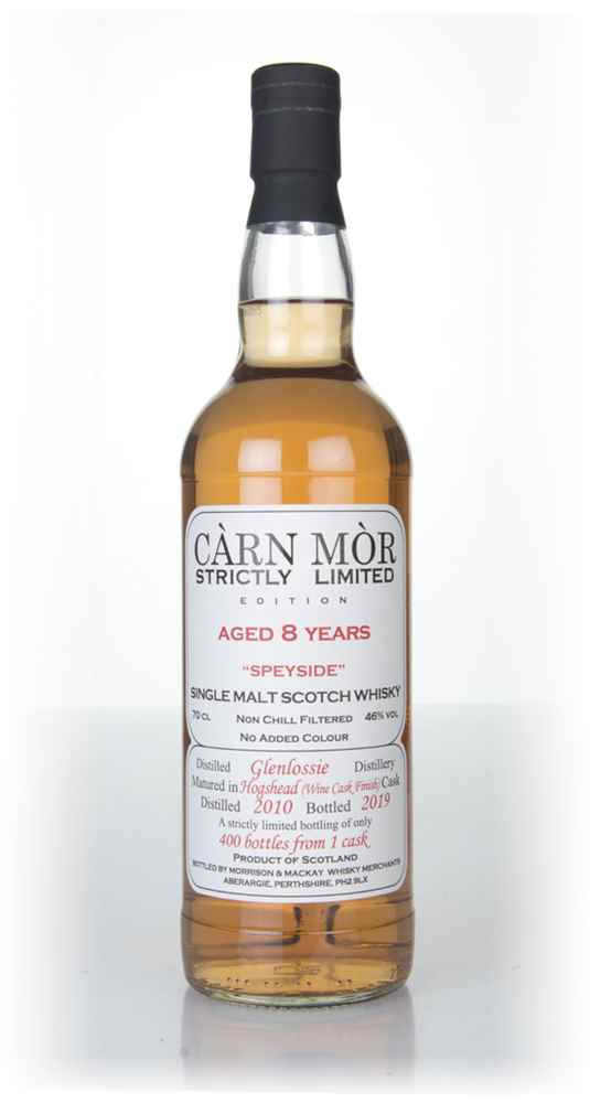 Glenlossie 8 Year Old 2010 - Strictly Limited (Càrn Mòr)
