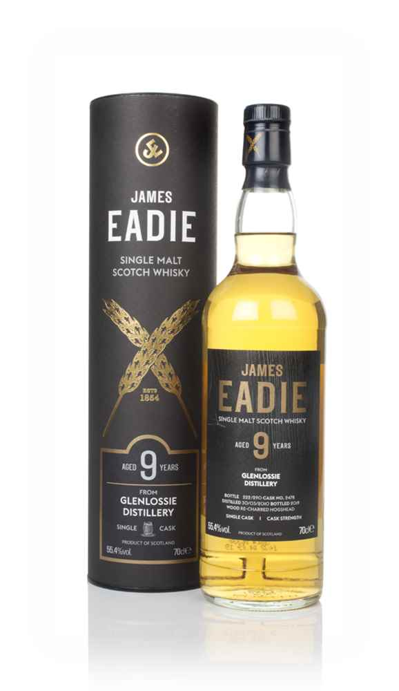 Glenlossie 9 Year Old 2010 (cask 2478) - James Eadie