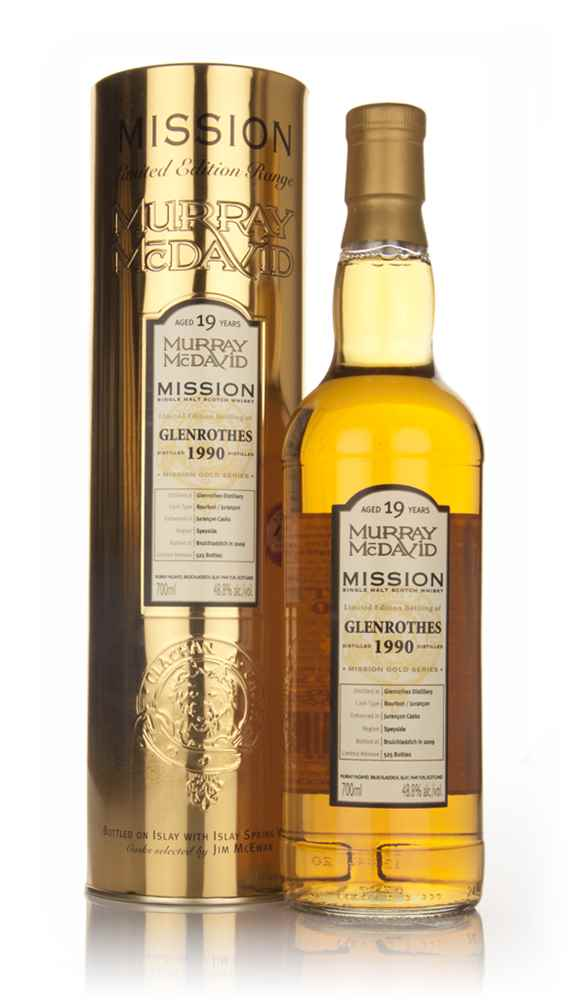 Glenrothes 19 Year Old 1990 - Mission (Murray McDavid)