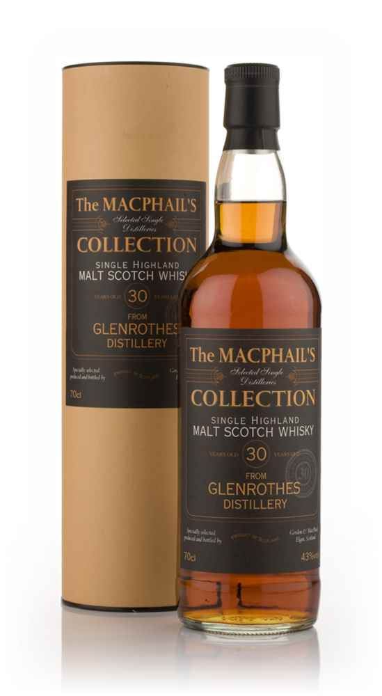 Glenrothes 30 Year Old - The MacPhail's Collection (Gordon and MacPhail)