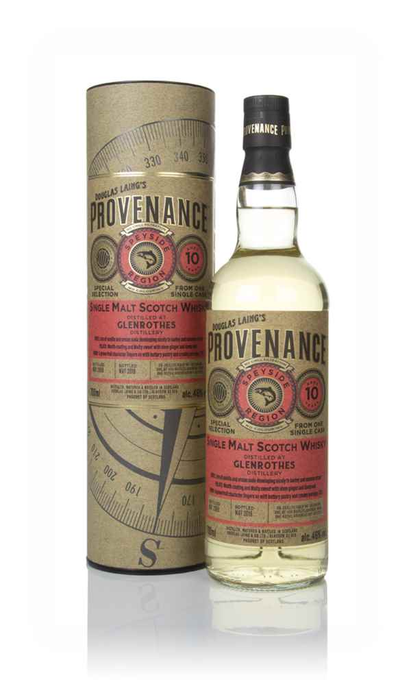 Glenrothes 10 Year Old 2009 (cask 13332) - Provenance (Douglas Laing)
