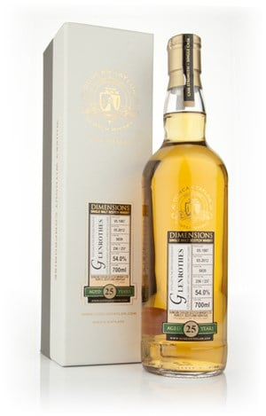 Glenrothes 25 Year Old 1987 - Dimensions (Duncan Taylor)