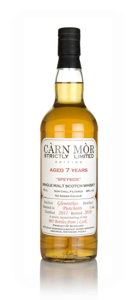 Glenrothes 7 Year Old 2011 - Strictly Limited (Càrn Mòr)