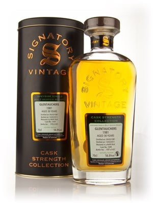 Glentauchers 30 Year Old 1981 Cask 1049 - Cask Strength Collection (Signatory)