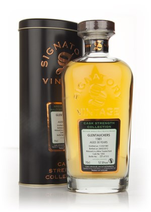 Glentauchers 30 Year Old 1981 - Cask Strength Collection (Signatory)